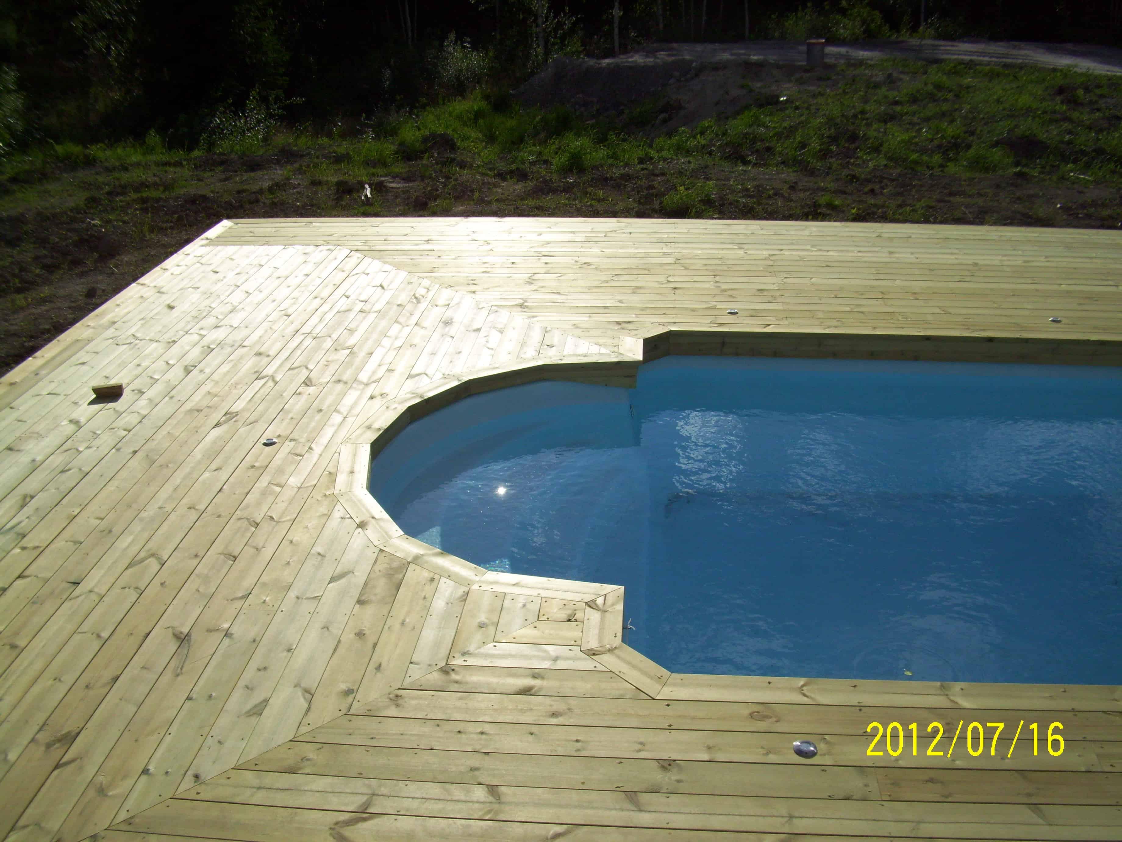 """Referensjobb """"Inbyggd pool 3"""" utfört av Skiveds Bygg & Montage"""
