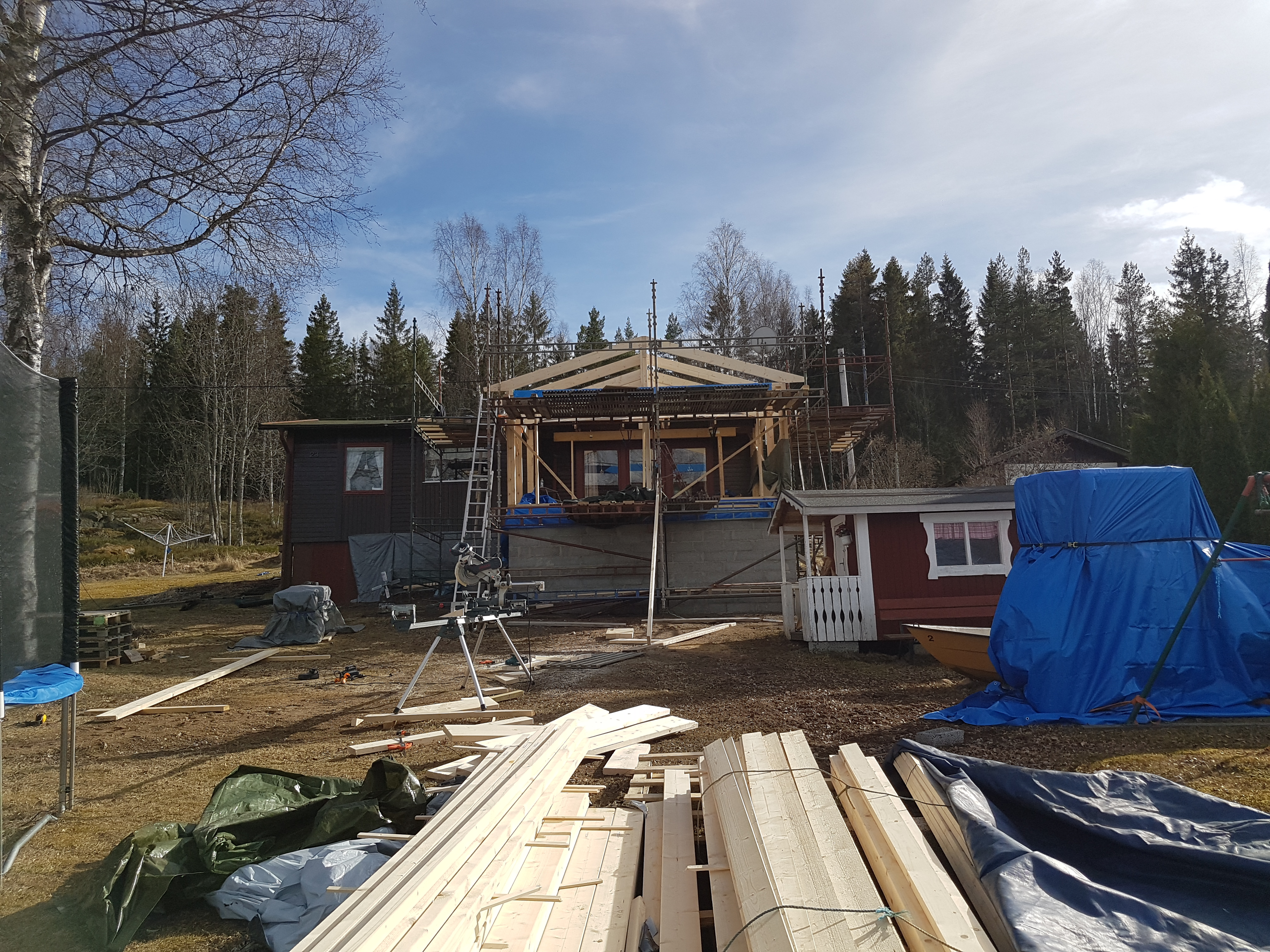 """Referensjobb """"Utbygge sommarstuga 4"""" utfört av Skiveds Bygg & Montage"""