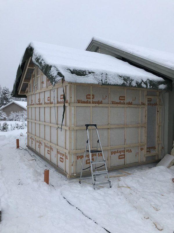 """Referensjobb """"Tillbyggnad"""" utfört av DTC Sundsvall AB"""