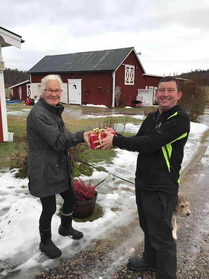 """Referensjobb """"En nöjd kund"""" utfört av DTC Sundsvall AB"""