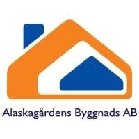 Logotyp för Alaskagårdens Byggnads AB