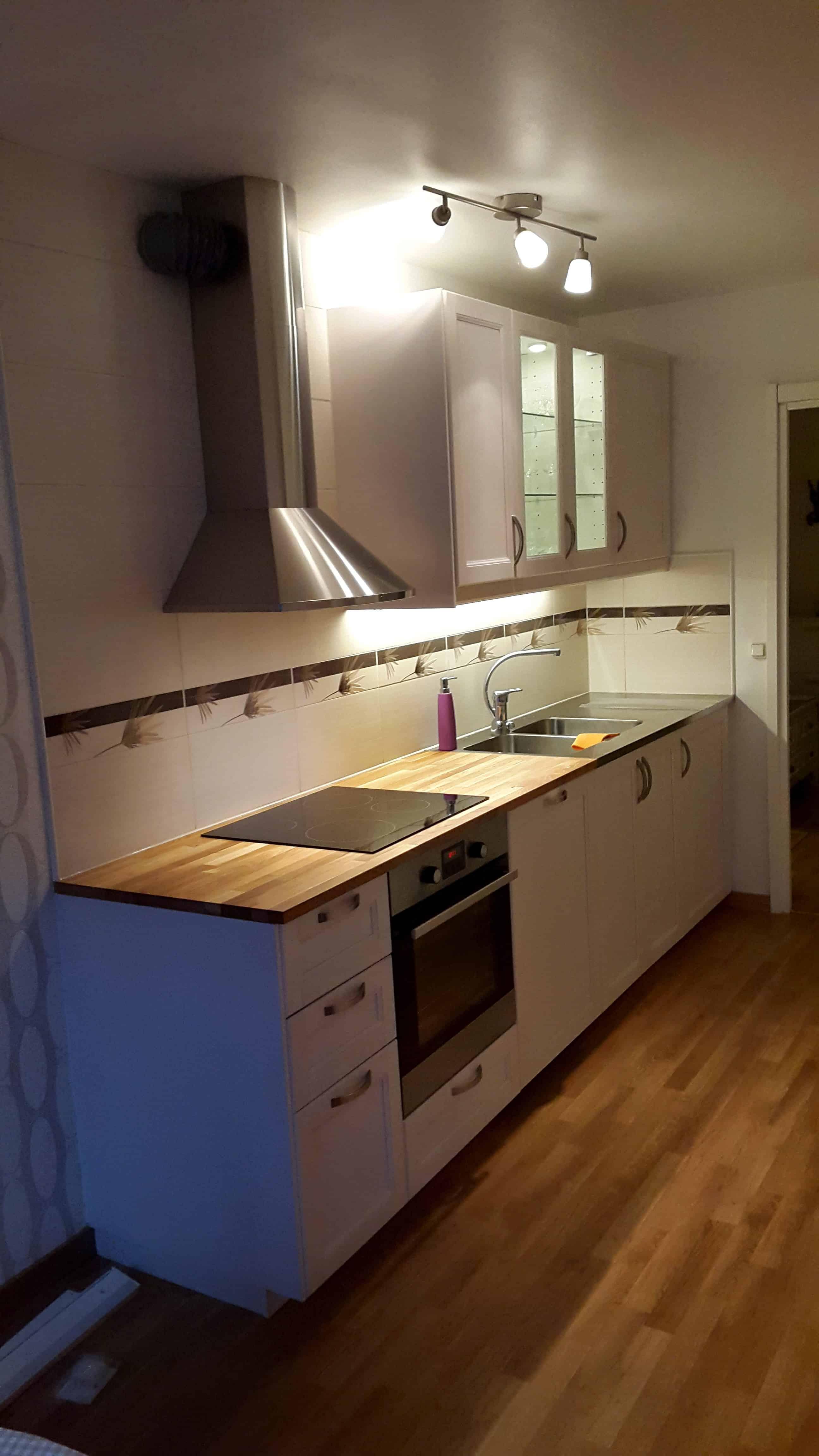 """Referensjobb """"Köksrenovering """" utfört av DNB Bygg & Fastighetsservice AB"""