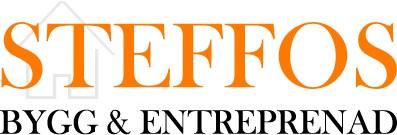 Logotyp för Steffos bygg & entreprenad Kommanditbolag