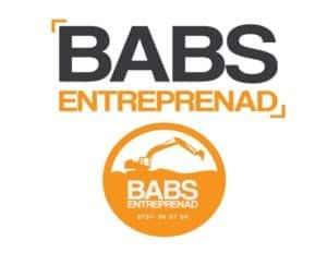 Logotyp för BABS Entreprenad