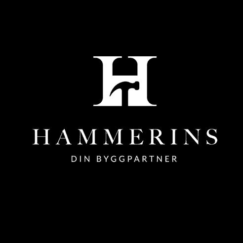 Logotyp för Hammerins Bygg AB