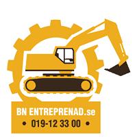 Logotyp för BN Entreprenad AB