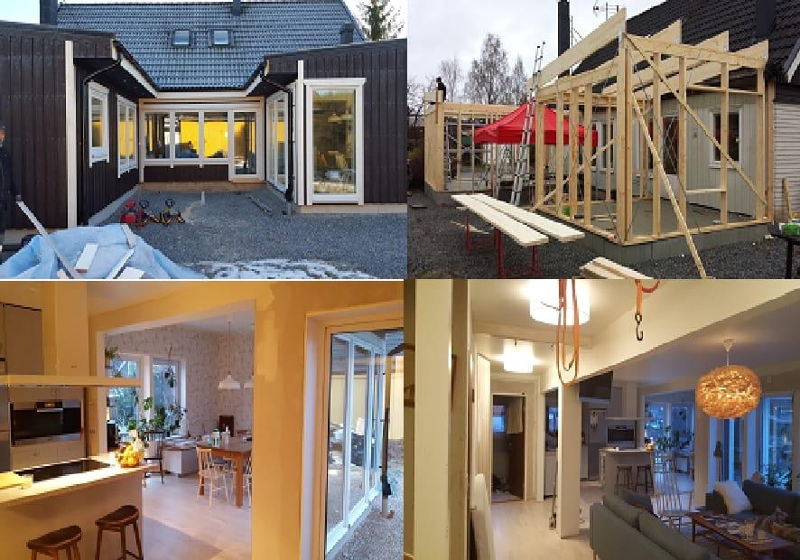 """Referensjobb """"Byggprojekt"""" utfört av Fedmar Bygg & Renovering AB"""