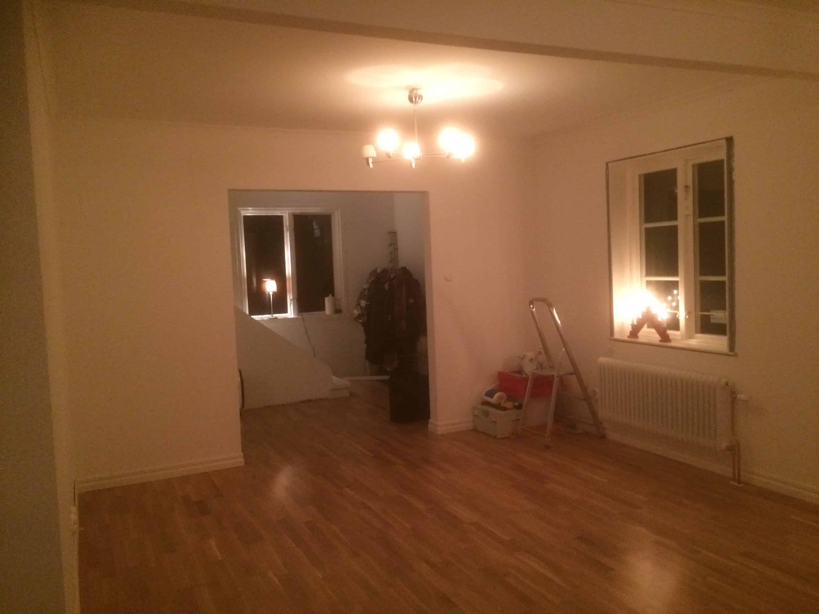 """Referensjobb """"Renovering av undervåning i villa"""" utfört av KA Bygg & Installation"""