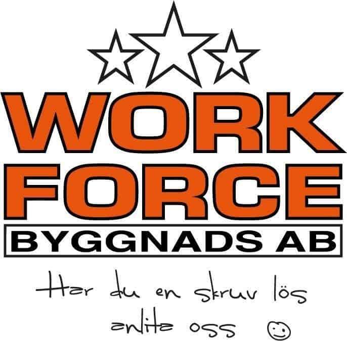 Logotyp för WORK FORCE BYGGNADS AB