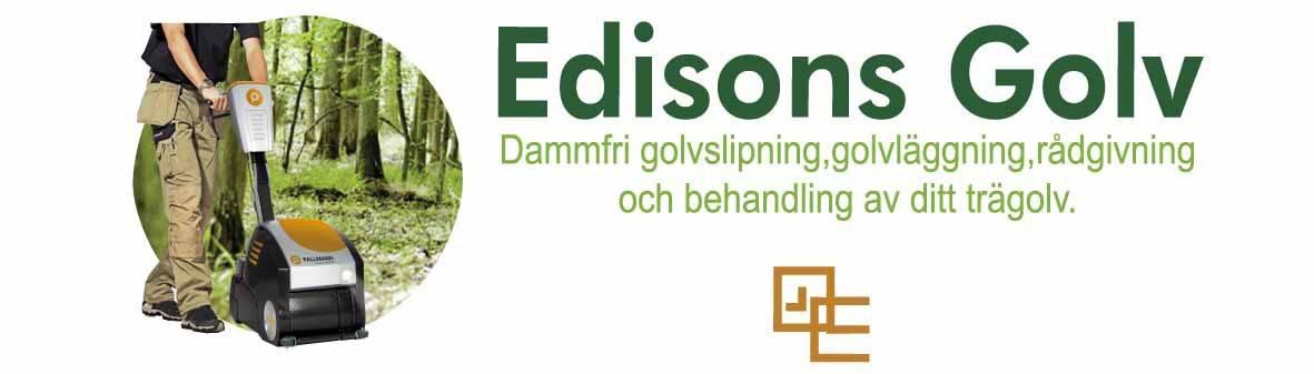 Logotyp för Edisons Golv