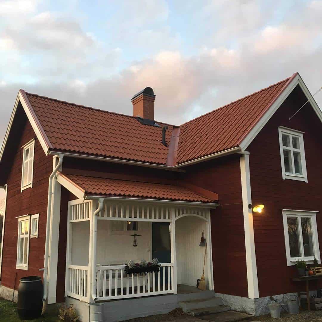 """Referensjobb """"-"""" utfört av Villatak i Bergslagen AB"""