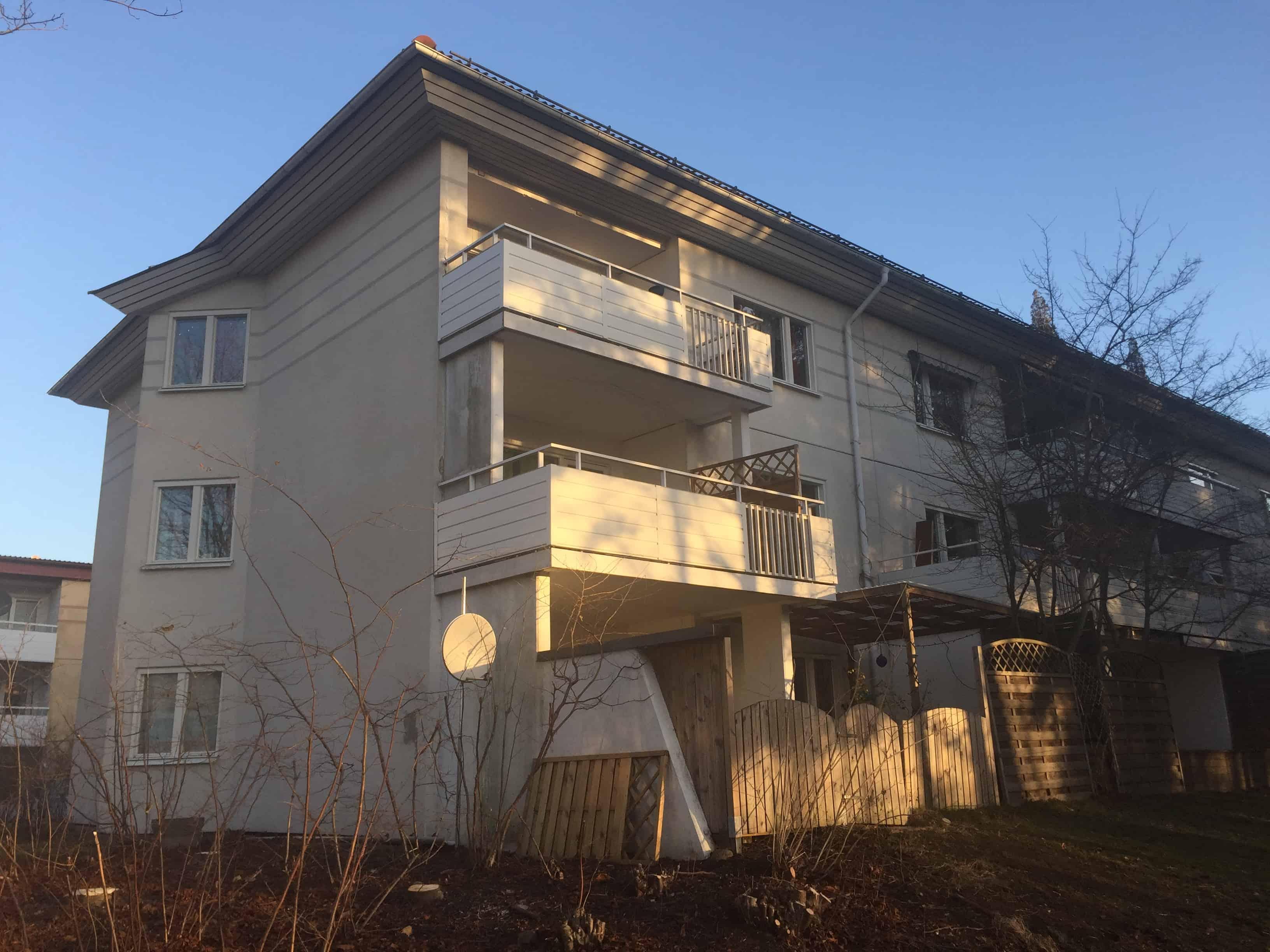 """Referensjobb """"Renovering av 48 balkoner"""" utfört av AS&RSERVICE"""