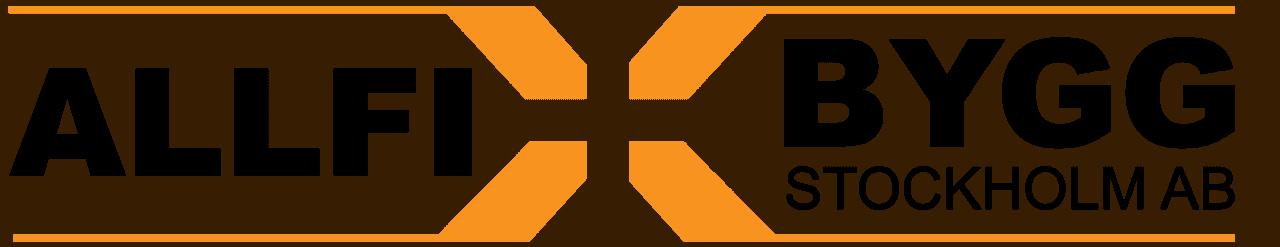 Logotyp för Allfix bygg Stockholm AB