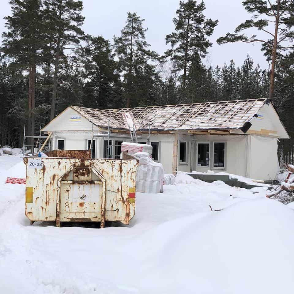 """Referensjobb """"-"""" utfört av BB Roslagens Byggtjänst"""