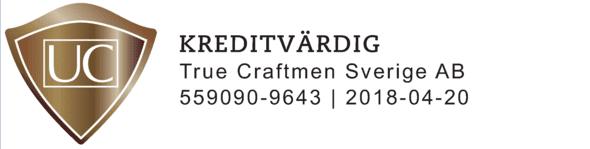 """Referensjobb """"UC Sigill"""" utfört av True Craftmen Sverige AB"""