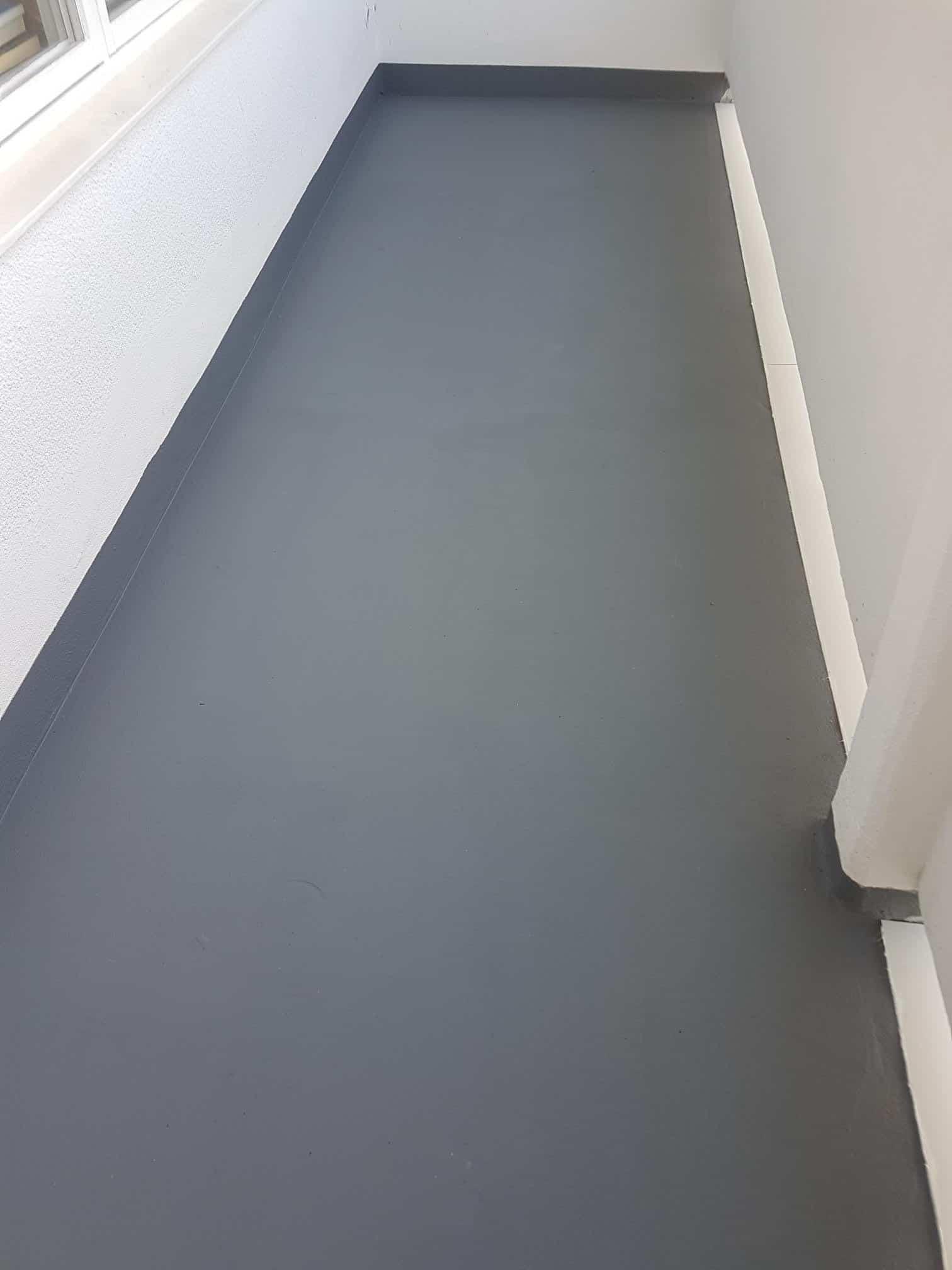 """Referensjobb """"Renovering av balkonger i Limhamn."""" utfört av JO BETONGTÄTNING AB"""