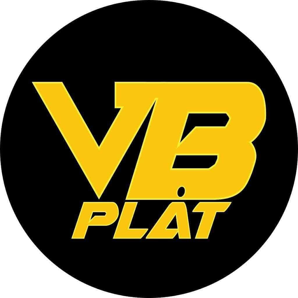 Logotyp för VB PLÅT AB