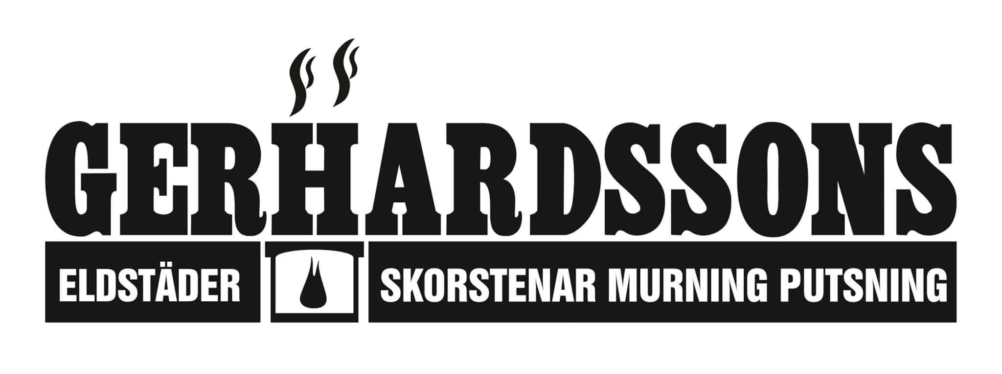Logotyp för Gerhardssons Skorstenar