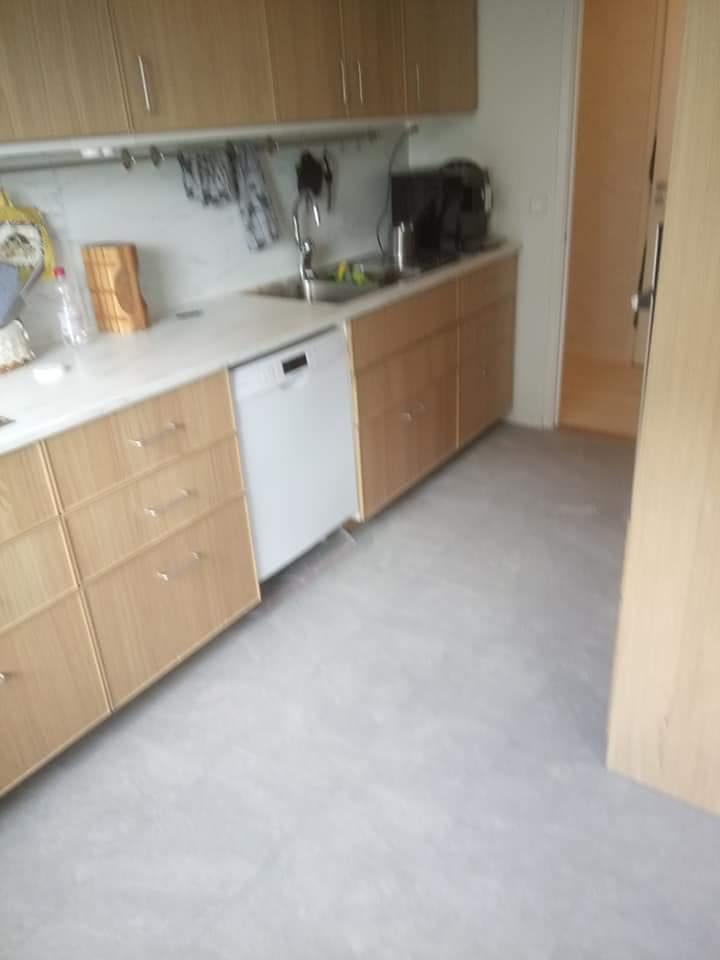 """Referensjobb """"Renovering av kök """" utfört av Gårda Måleri"""