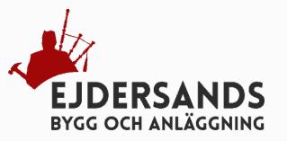 Logotyp för Ejdersands Bygg och Anläggning