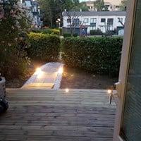 """Referensjobb """"Renovering av lägenhet invändigt och altan i Rissne"""" utfört av Bayron Group AB"""