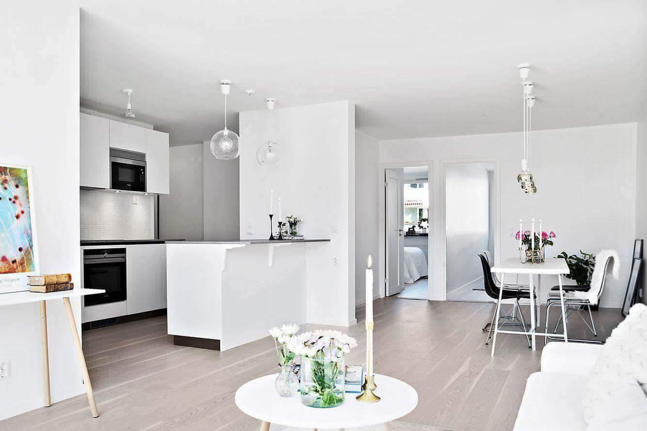 """Referensjobb """"Renovering av lägenhet"""" utfört av Bayron Group AB"""