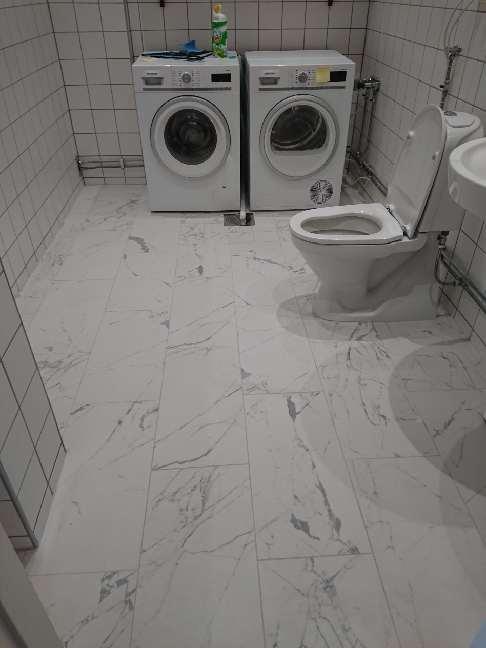 """Referensjobb """"Renovering av badrum Liljeholmen"""" utfört av Bayron Group AB"""