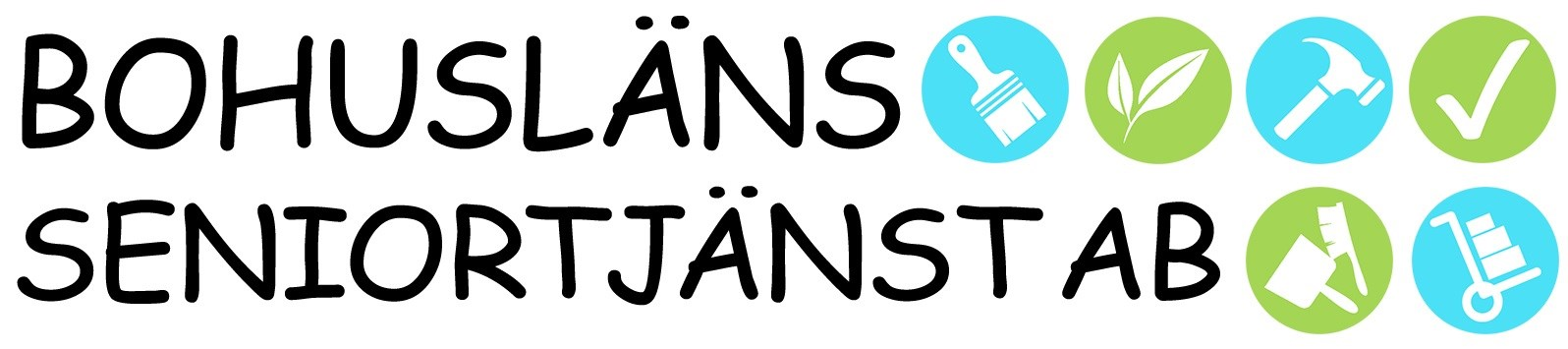 Logotyp för Bohusläns Seniortjänst AB