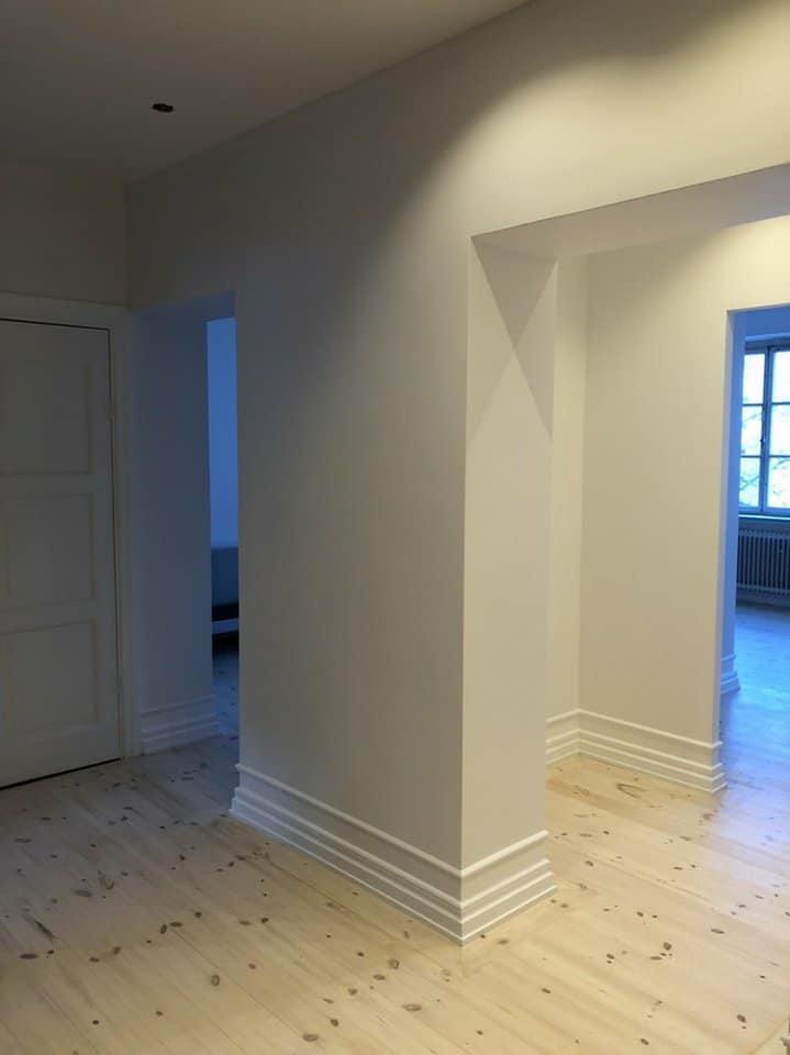 """Referensjobb """"Komplett renovering av en lägenhet"""" utfört av Ollender Bygg"""