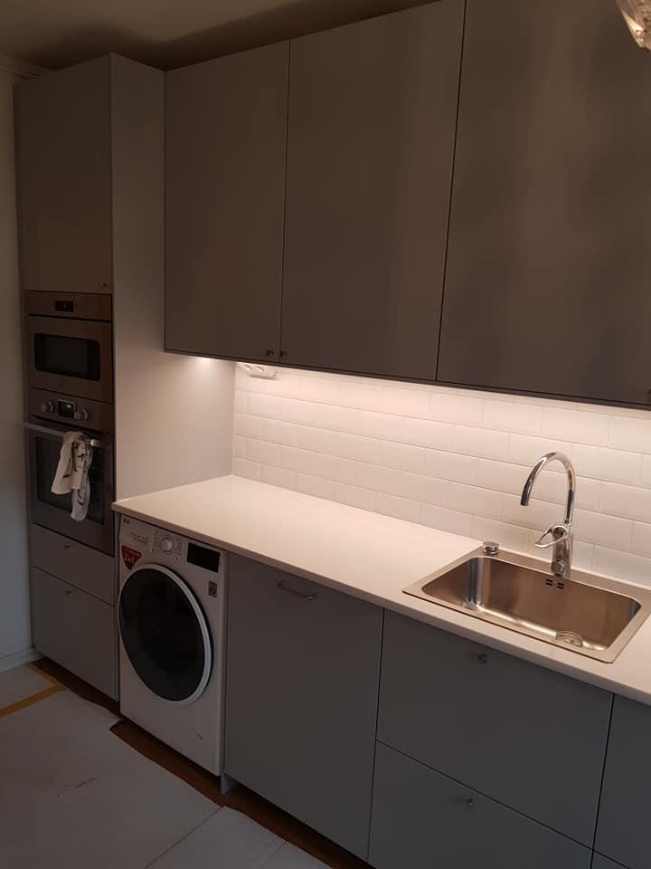 """Referensjobb """"Köksrenovering"""" utfört av MZ Bygg & renovering AB"""