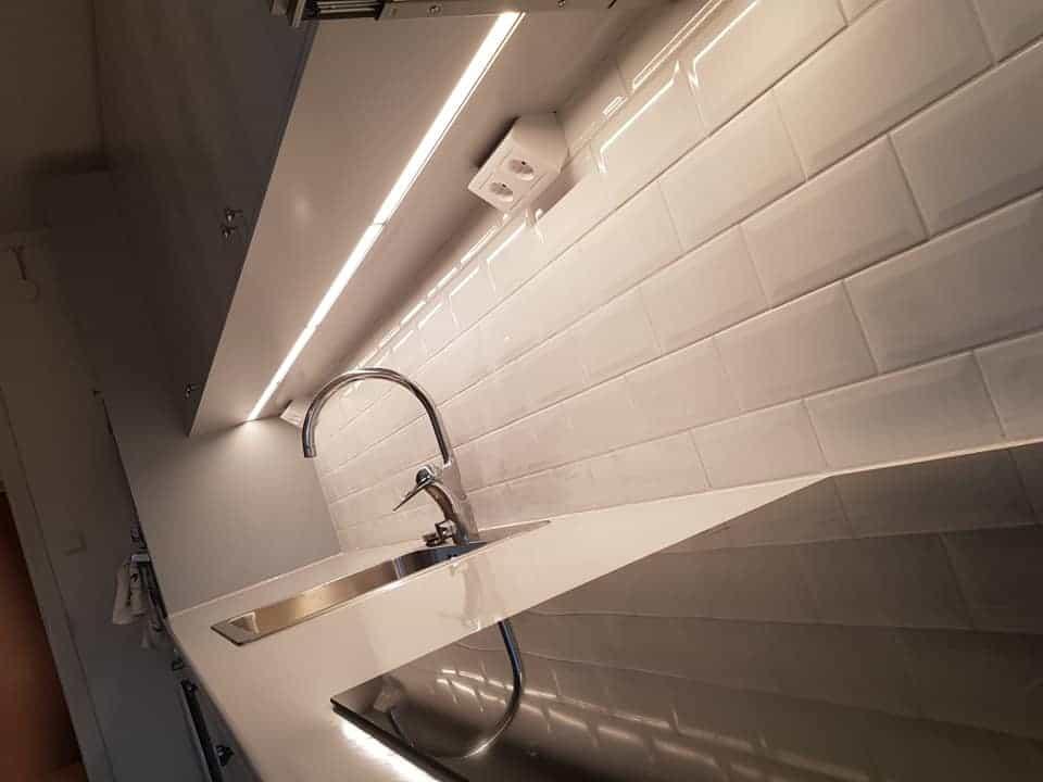 """Referensjobb """"detaljbild, köksrenovering"""" utfört av MZ Bygg & renovering AB"""