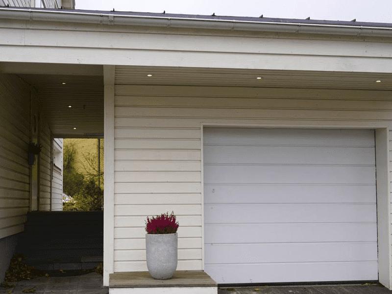 """Referensjobb """"Tillbyggt garage"""" utfört av Bostadsrep i Norr AB"""