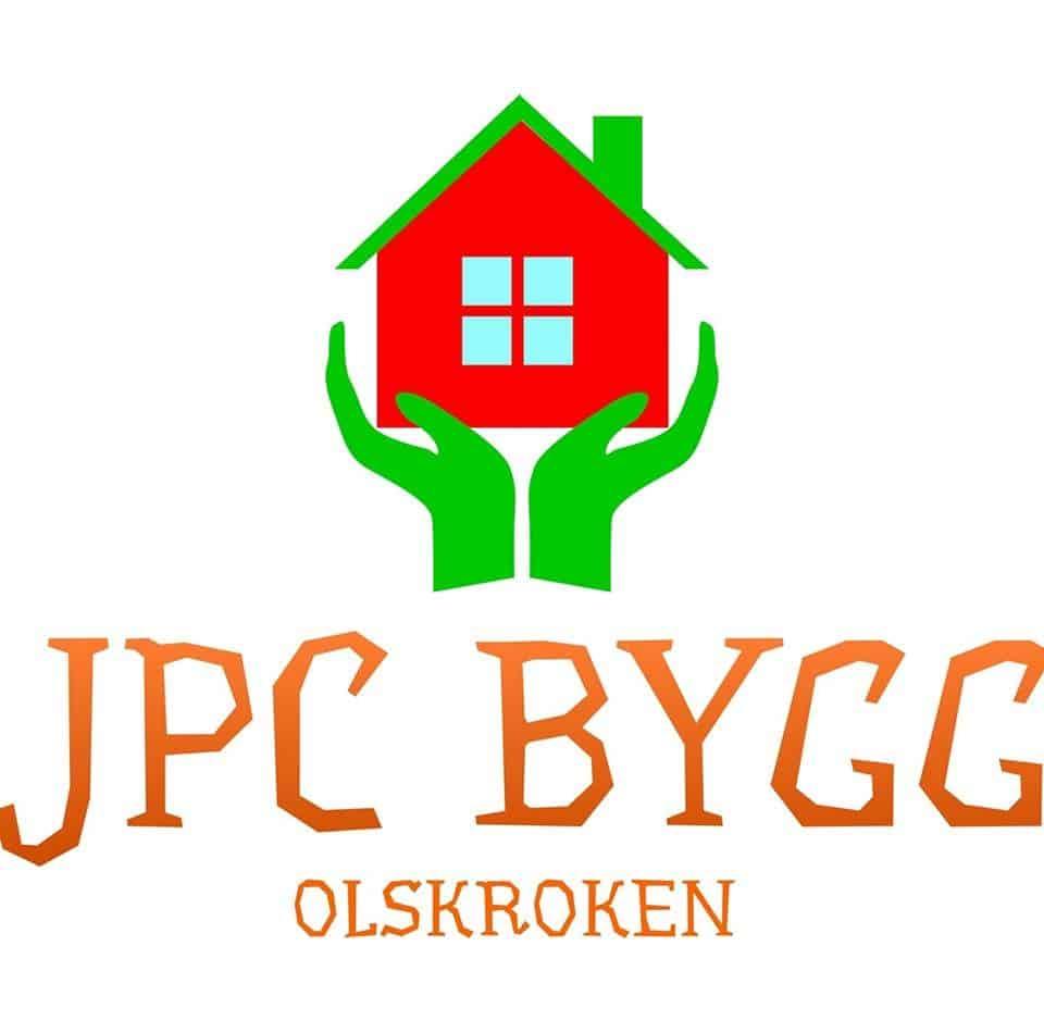 Logotyp för JPC BYGG OLSKROKEN