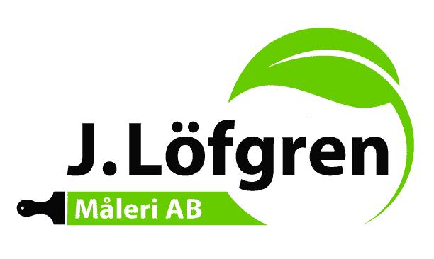 Logotyp för J. Löfgren Måleri AB