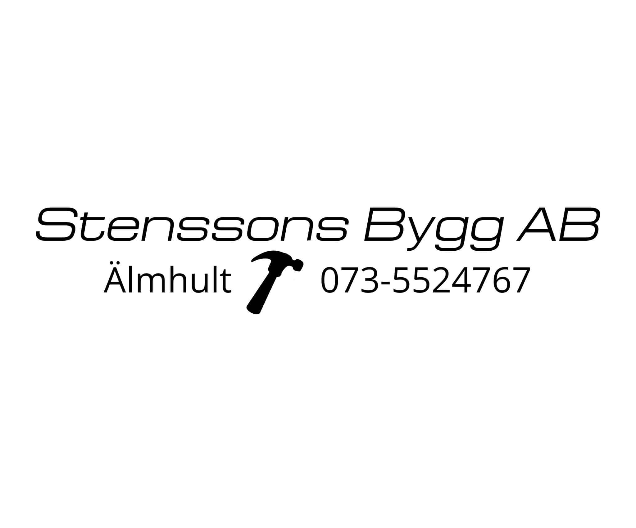 Logotyp för Fredrik Stensson Bygg AB