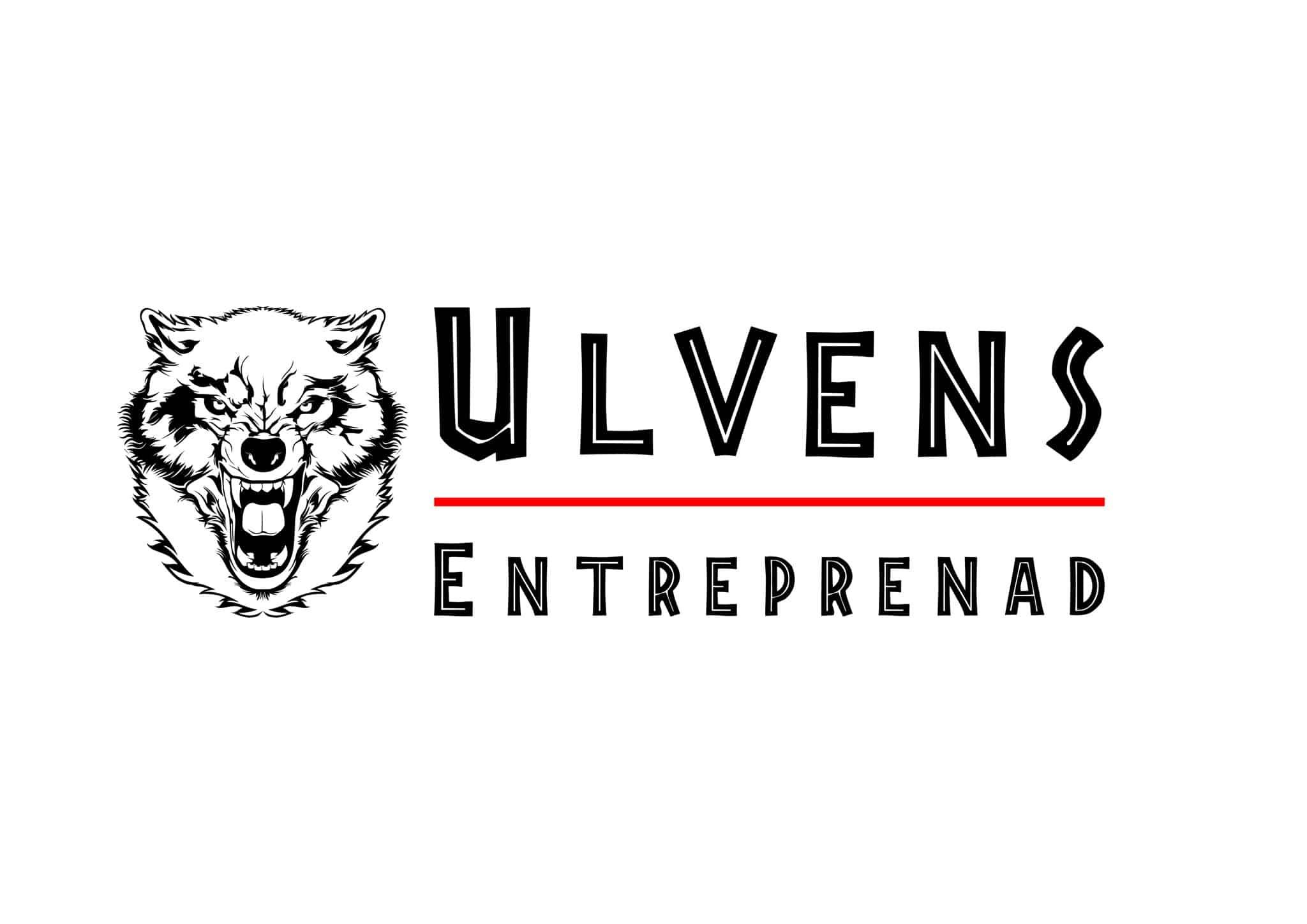 Logotyp för Ulvens Entreprenad AB