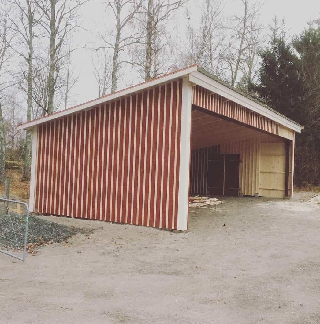 """Referensjobb """"Garage"""" utfört av RC Linells Bygg & Service Handelsbolag"""