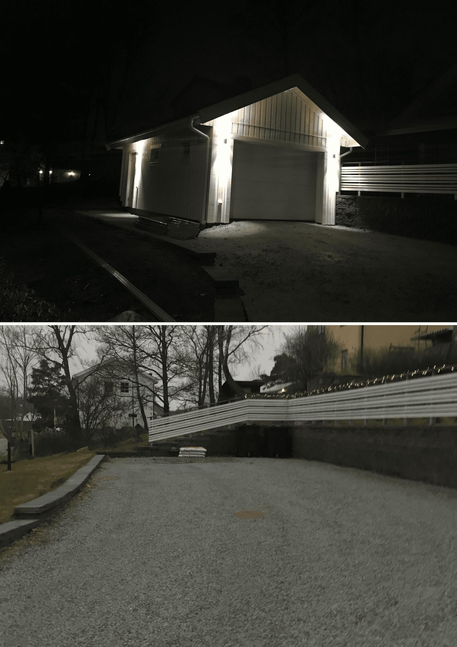"""Referensjobb """"Nybyggnation av garage"""" utfört av Arnito Bygg och Måleri AB"""