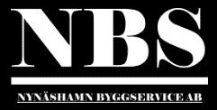 Logotyp för Nynäshamn Byggservice AB