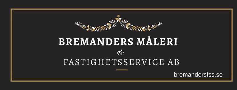 Logotyp för Bremanders Måleri och Fastighetsservice AB