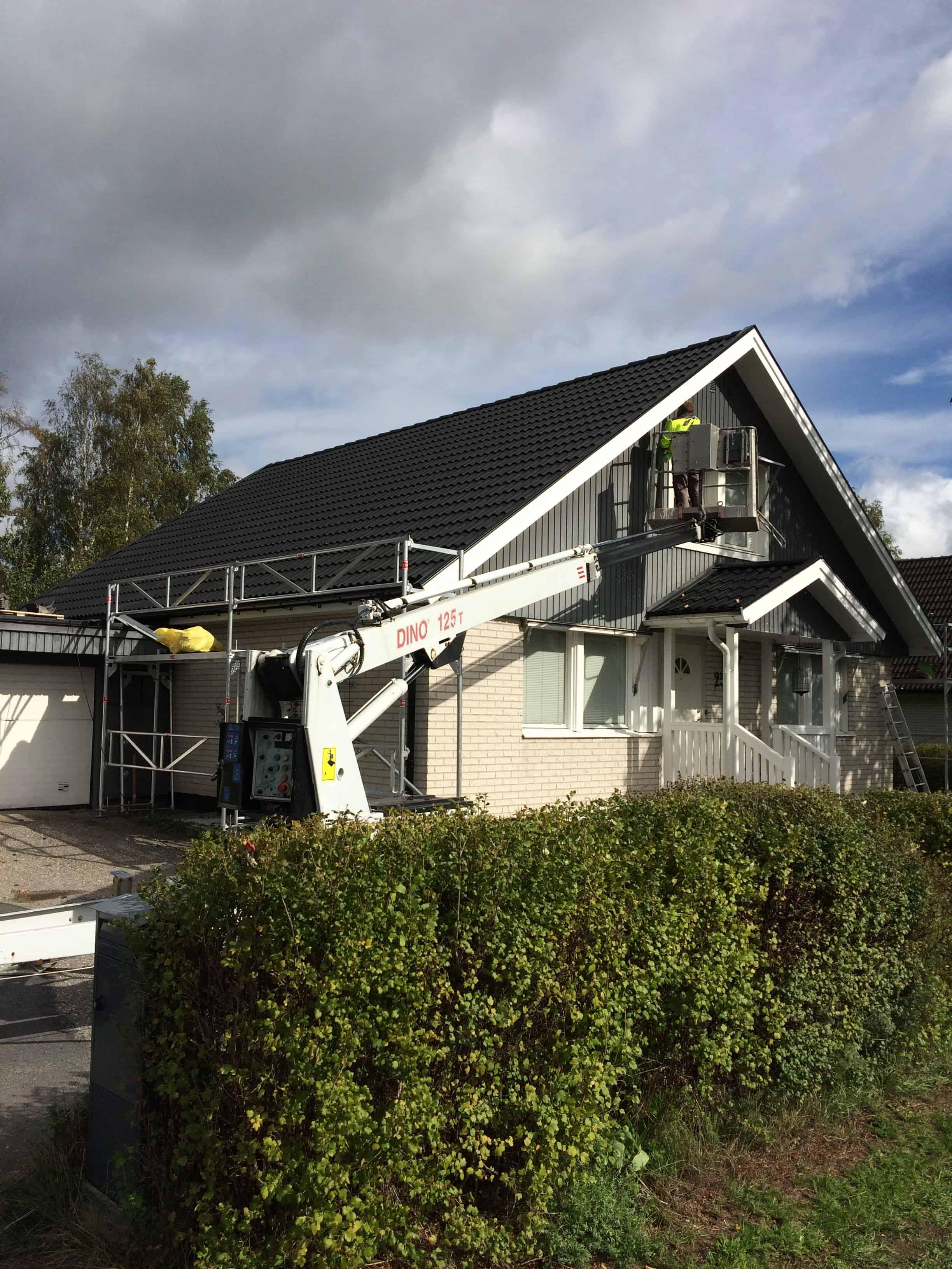 """Referensjobb """"Tak renovering """" utfört av Svealands Bygg & Entreprenad AB"""