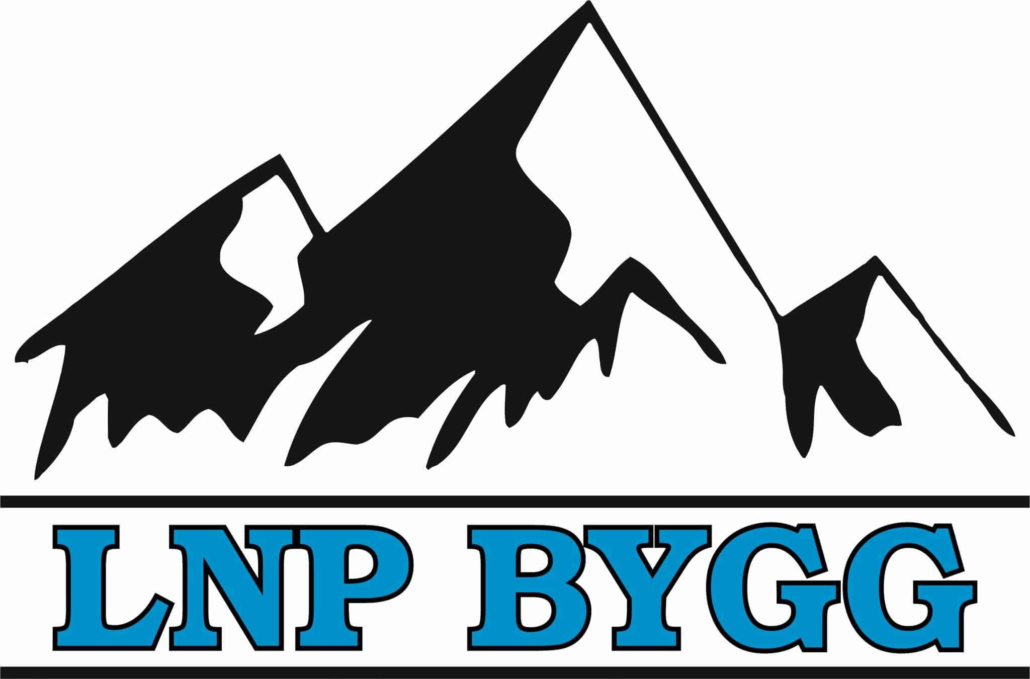 Logotyp för LNP Bygg