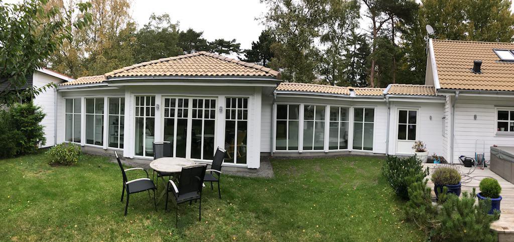"""Referensjobb """"Utbyggnad Skåne"""" utfört av Träknuten i Norr Aktiebolag"""