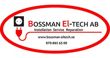 Logotyp för Bossman Eltech AB