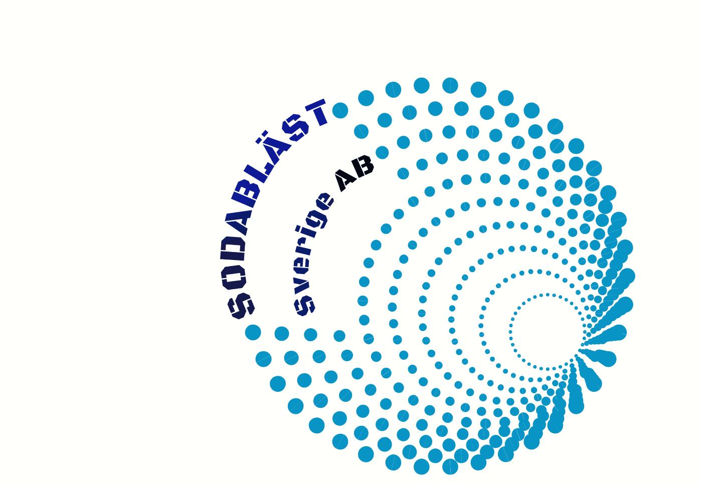 Logotyp för SodaBläst Sverige AB
