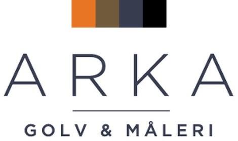 Logotyp för Arka Golv & Måleri AB