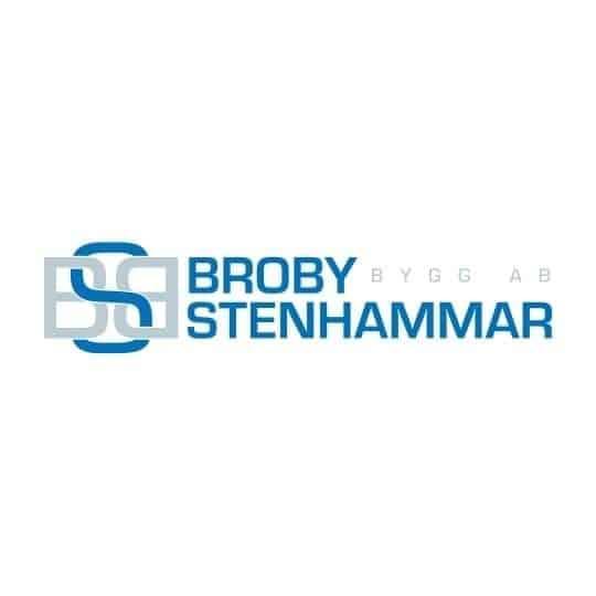 Logotyp för Broby Stenhammar Bygg AB