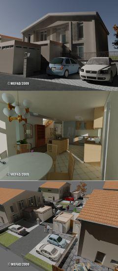 """Referensjobb """"Arkitektur och 3D visualisering"""" utfört av 6-Eyes AB"""