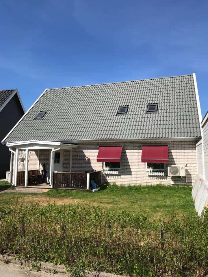 """Referensjobb """"Nytt tak"""" utfört av Tälje Villaservice"""