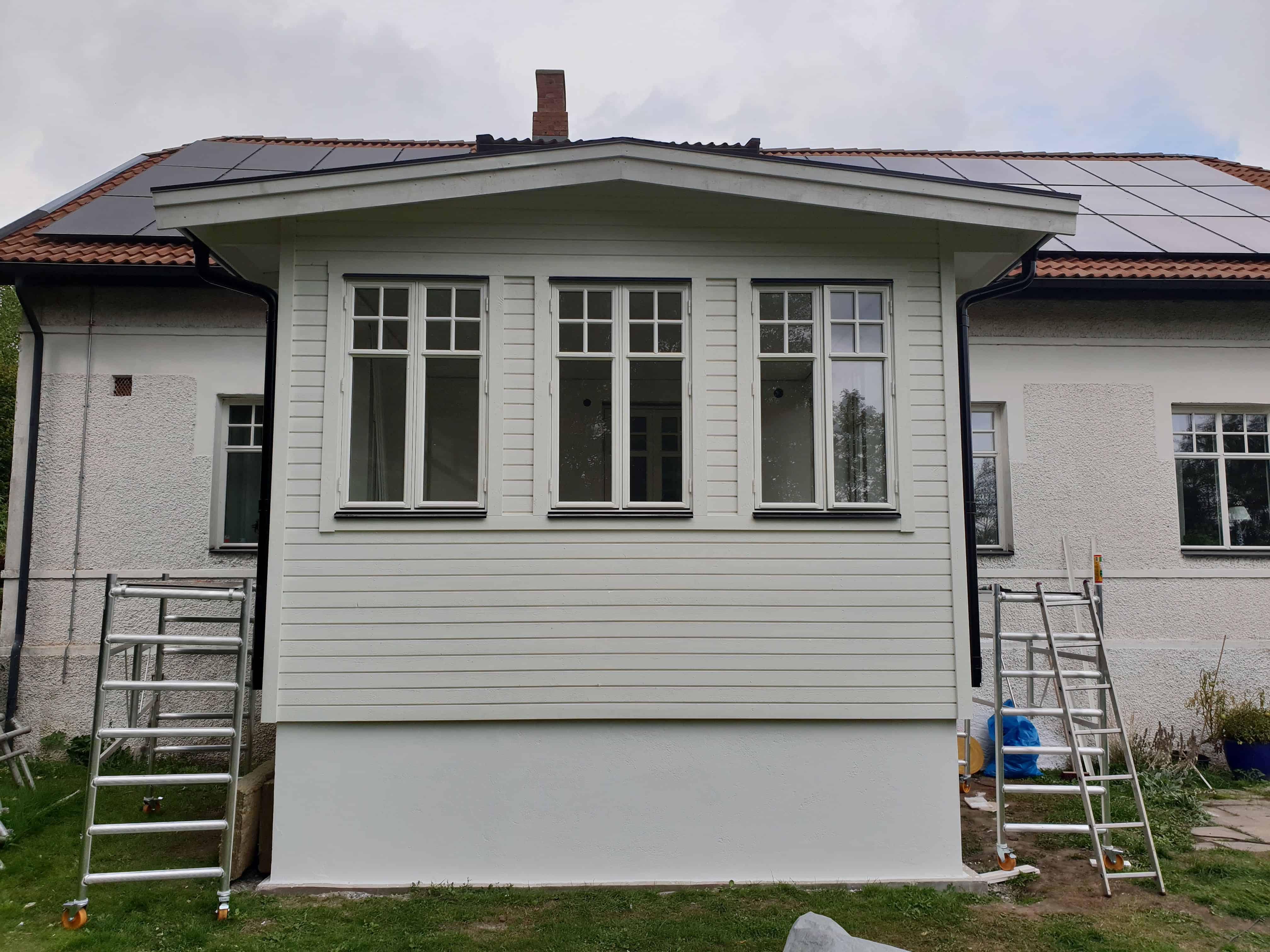"""Referensjobb """"Uterum från grunden"""" utfört av Robin k bygg aktiebolag"""